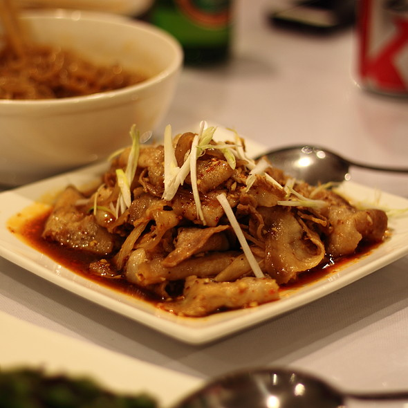 Double Cooked Sliced Pork Belly @ Little Pepper