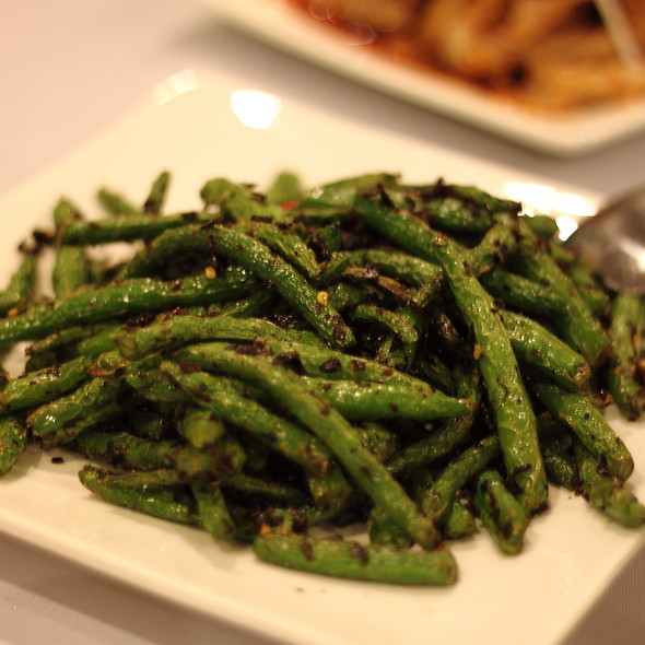 Dried Sauteed String Beans @ Little Pepper