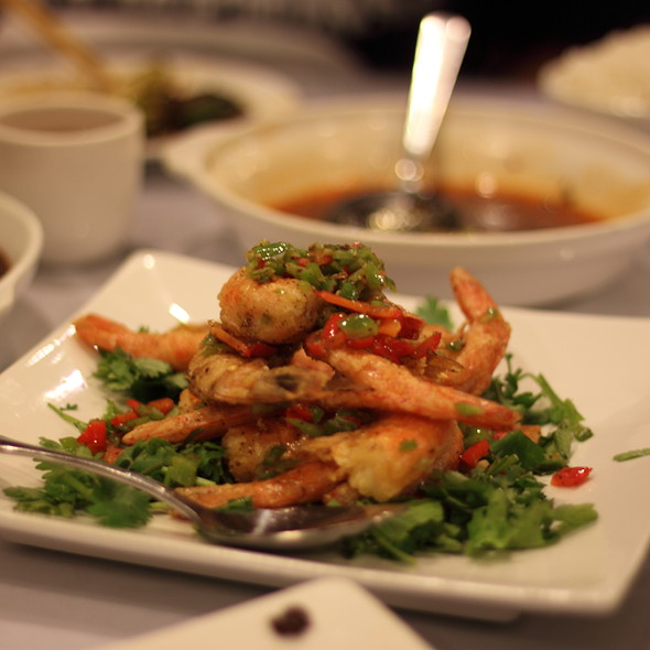 Deep Fried Prawn with Pepper Salt @ Little Pepper