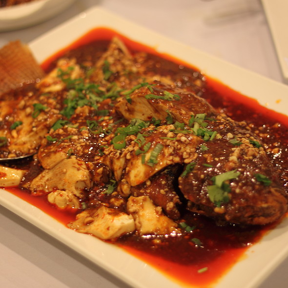 Whole Fish with Bean Curd @ Little Pepper