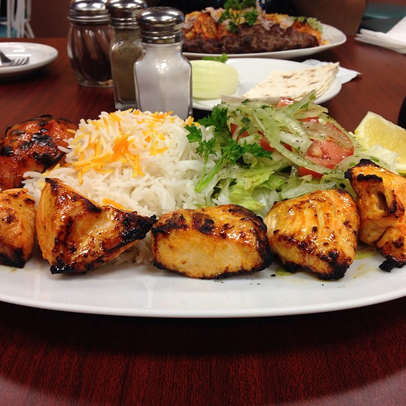 Chicken Breast Kabab @ Piccolo