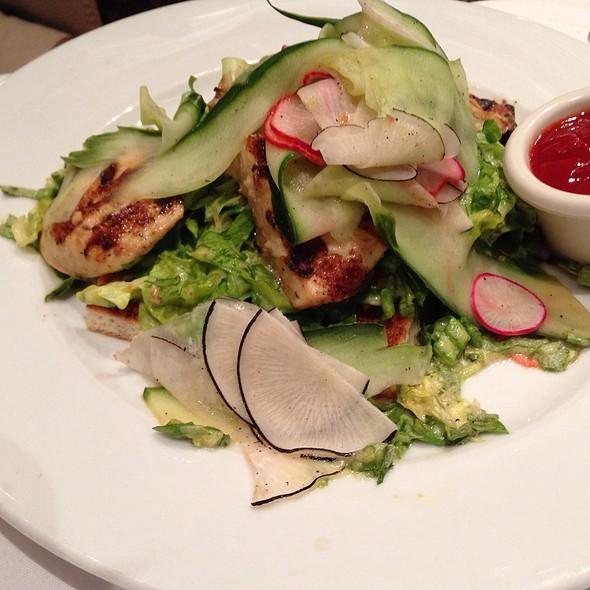 Brioche Chicken Sandwich - Kendall's Brasserie, Los Angeles, CA