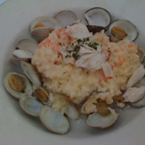 Seafood Risotto - Red Fish Grill, Miami, FL
