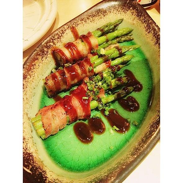 Bacon Asparagus.