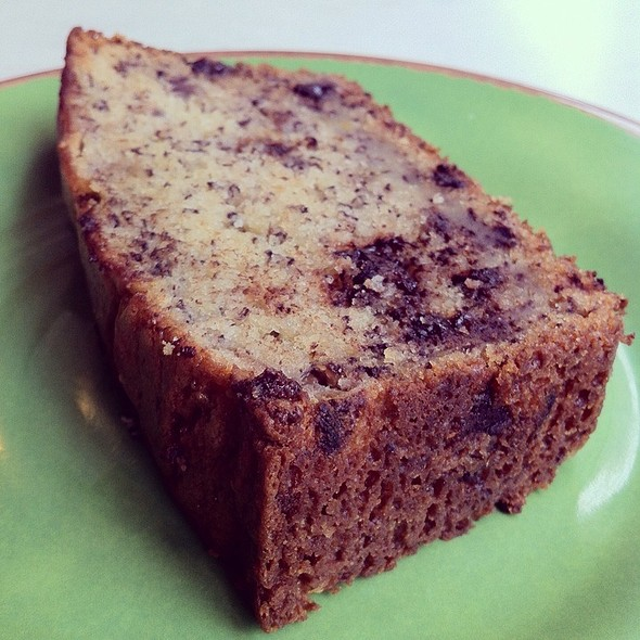 chocolate chip banana bread @ Caffeination