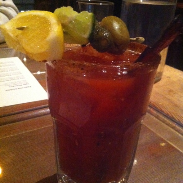 Bacon Bloody Mary @ Low Country
