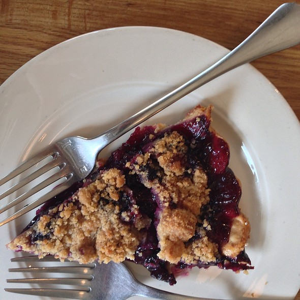 Blueberry Cobbler @ Pie Corps