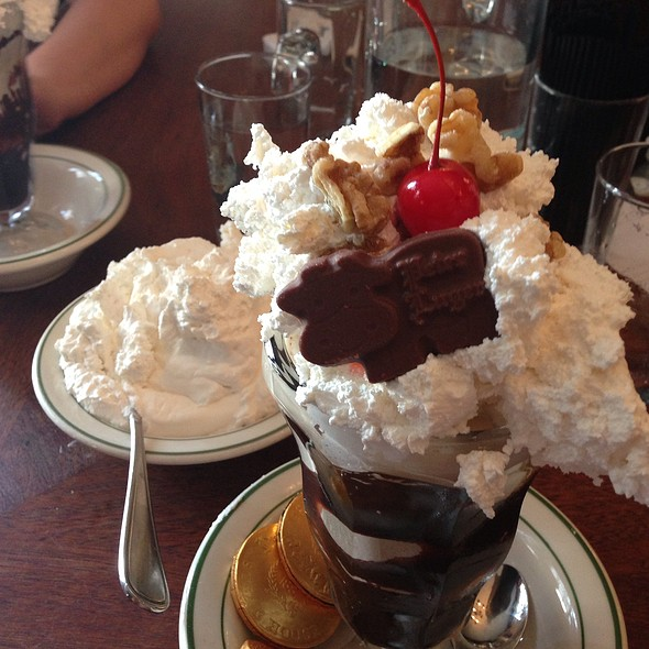 Holy Cow Hot Fudge Sundae @ Peter Luger Steakhouse