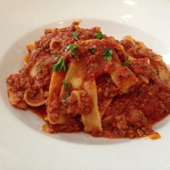 parpadelle with bolognese sauce - DaDomenico Ristorante, McLean, VA