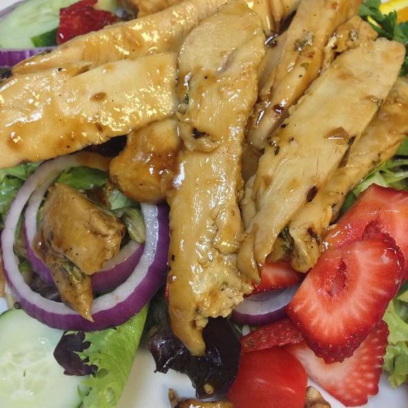 Teriyaki Pecan Chicken Salad @ Valentino's Restaurant