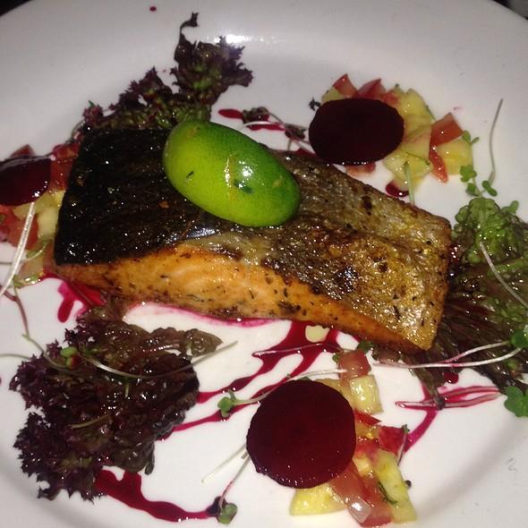 Blackened Salmon @ Freddy's Bistro
