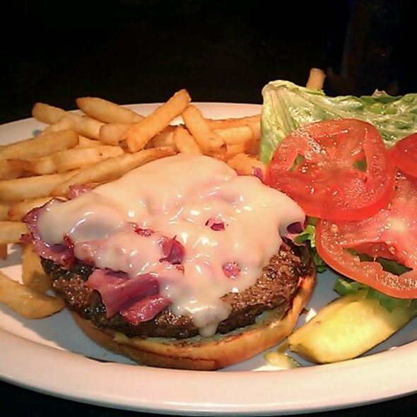 Corned Beef Steak Burger @ End Zone LLC