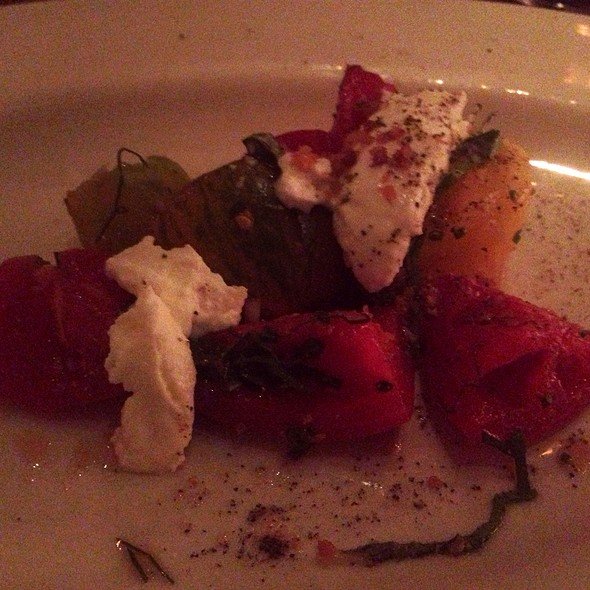 Heirloom Tomato And Goat Cheese - Hibiscus, Dallas