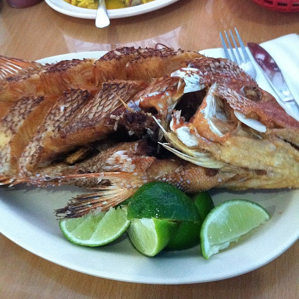 fried fish @ La Cameronera
