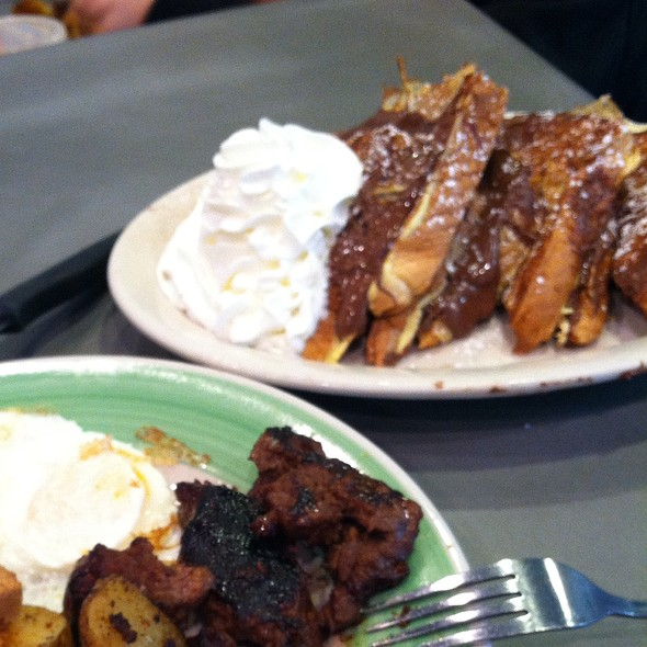 Nutella Stuffed French Toast @ In A Pickle