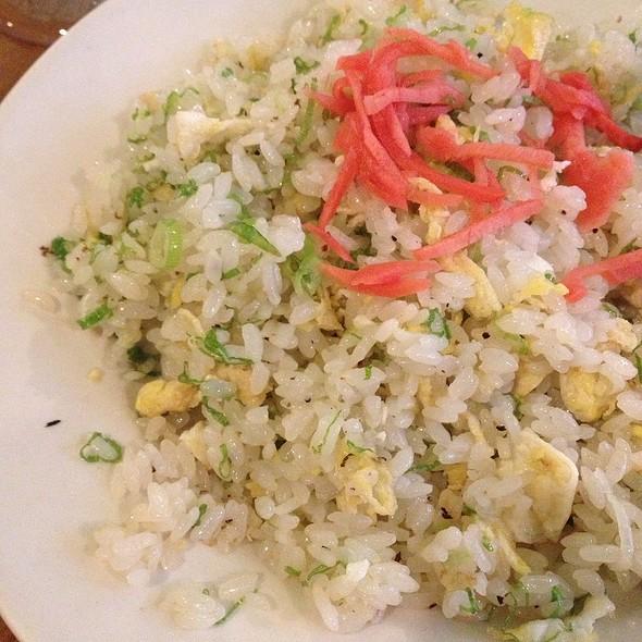 Fried Rice @ Hanamizuki