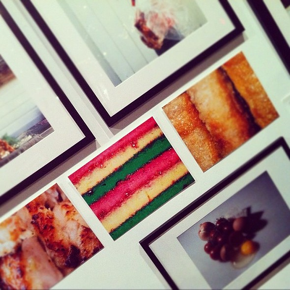 from a photography show I went to last year. I really want that shot of the Italian rainbow cookie. @ Powerhouse Arena