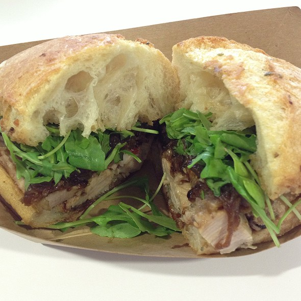 Porcheta Sandwich @ Roli Roti at the Ferry Building Farmer's Market