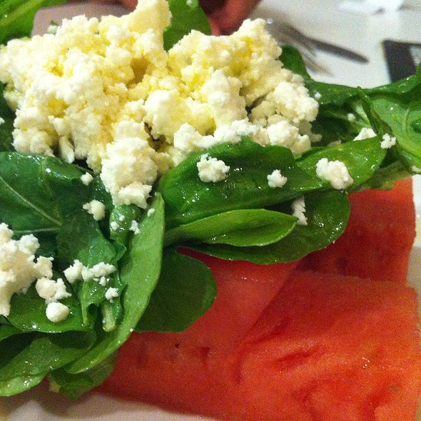 Watermelon And Rocket Salad @ Gold Spike Hotel & Casino