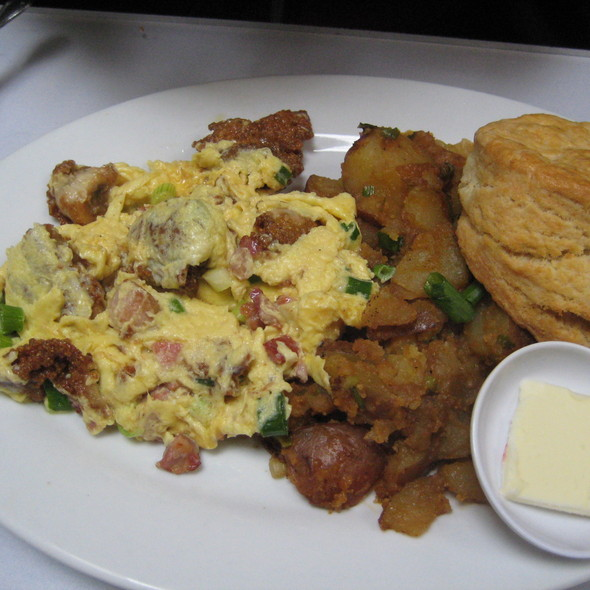 hangtown fry @ Brendas French Soul Food