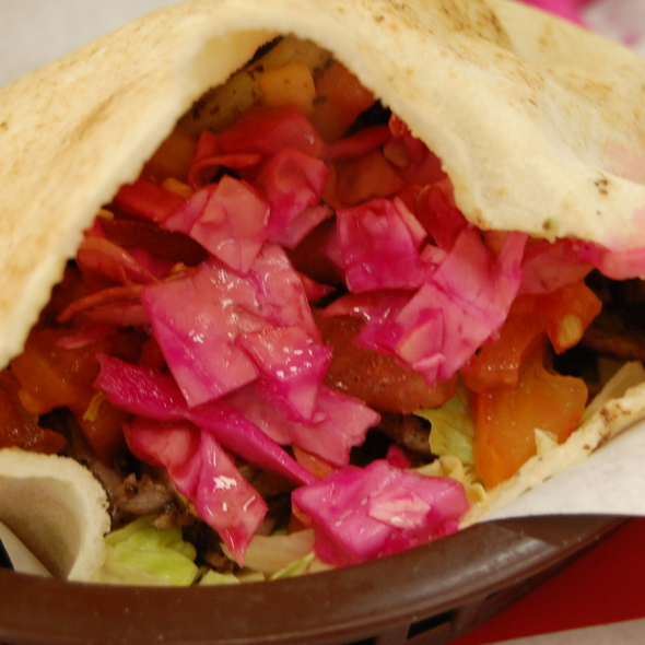 Lamb Shawarma @ Sunrise Deli & Cafe