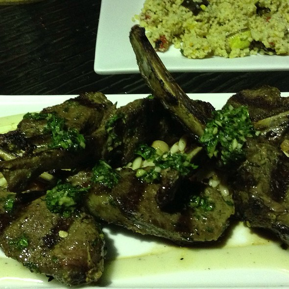 Lamb Chops And Cous Cous