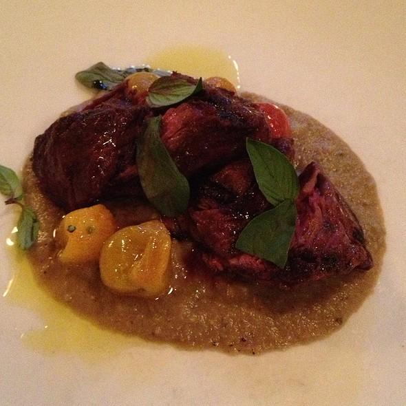 Grilled Hangar Steak @ La Tavola Trattoria