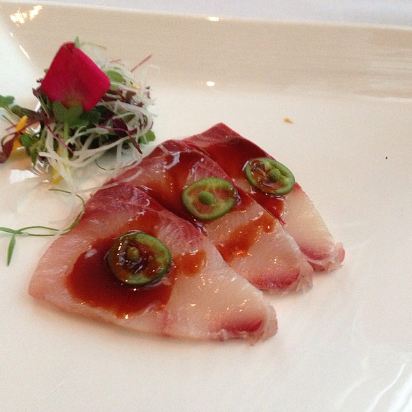 Yellowtail Carpaccio