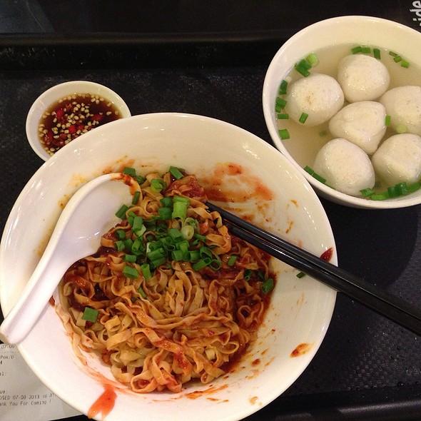 Fish Ball Noodle Soup @ Orchard ION Food Hall