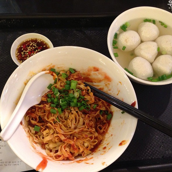 Fish Ball Noodle Soup @ Orchard ION Food Hall