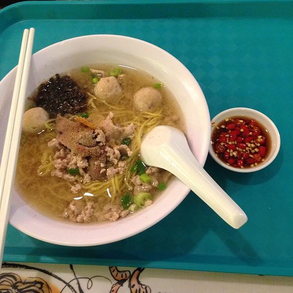 Pork Noodle @ Tai Heng Changi Airport Terminal 2