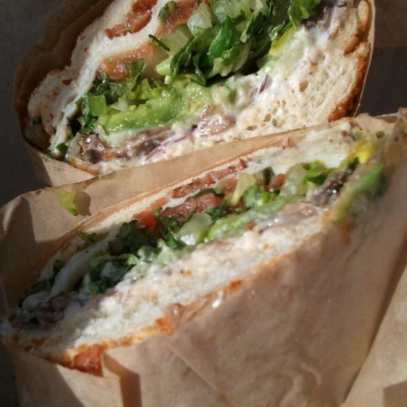 SF Giants Sandwich @ Ike's Place 3