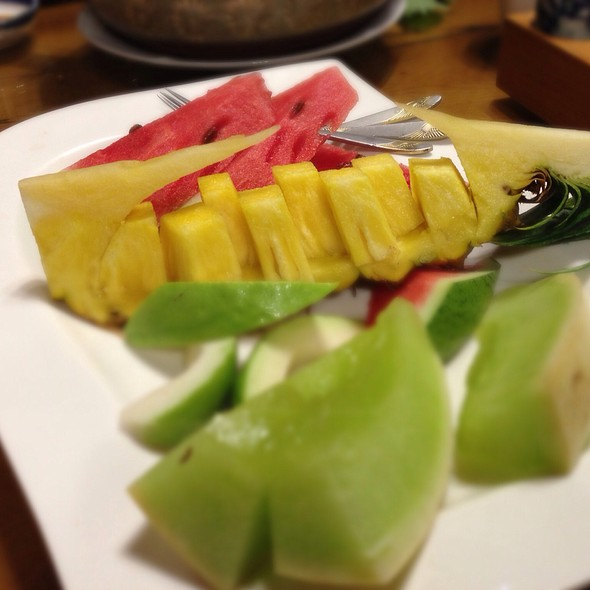 Fruits @ 自然合天檜木主題餐廳