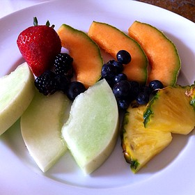 Fruit Plate - Escabeche - The Prince of Wales Hotel, Niagara-on-the-Lake, ON