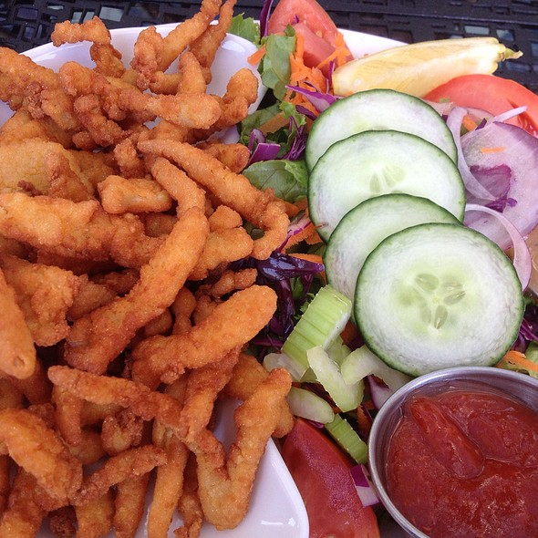 Clam Strips And Garden @ The Olde Yorke Fish & Chips