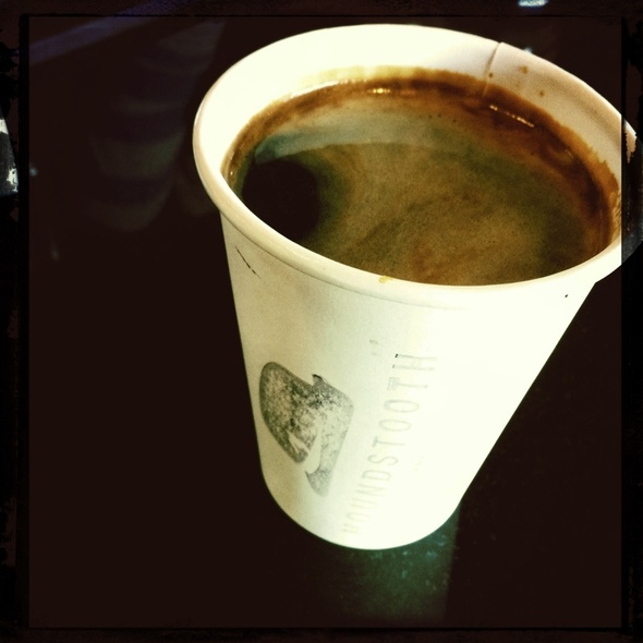 Americano @ Houndstooth Coffee