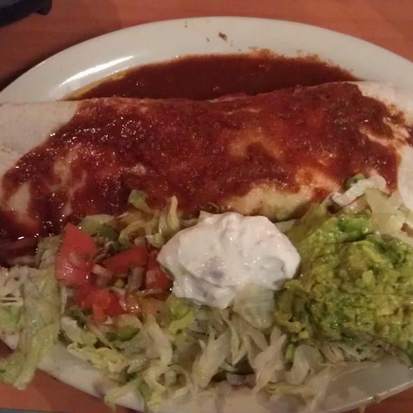 Chicken Fajita Burrito @ Agave Mexican Restaurant