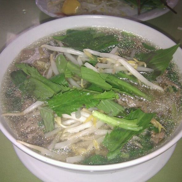 Medium Pho With Rare Steak