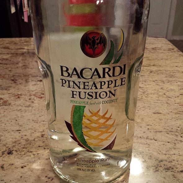 Bacardi Pineapple Fusion @ Kelly's Liqour