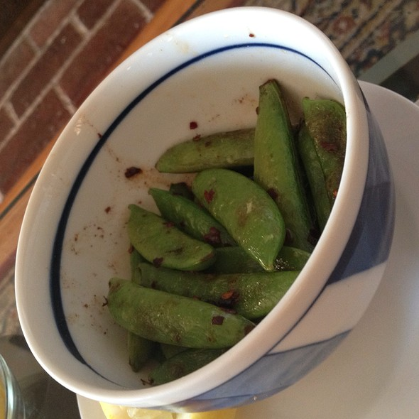 Spicy Snap Peas @ Home
