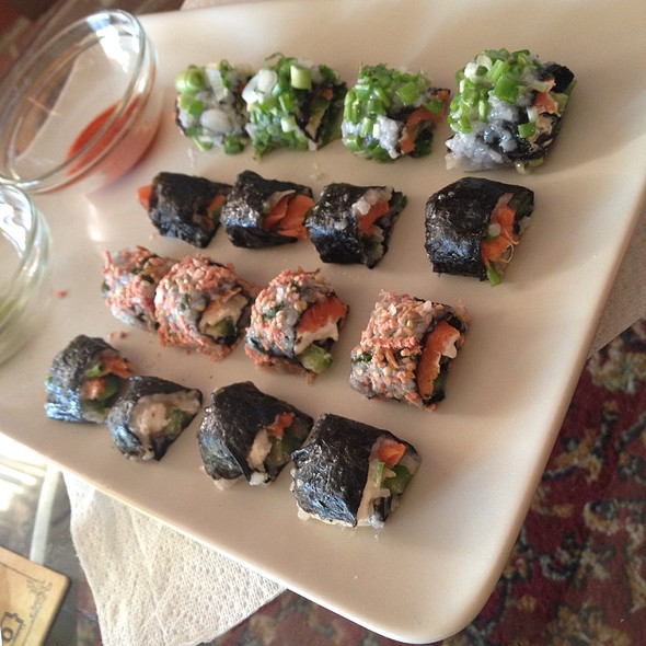 Assorted Sushi @ Home