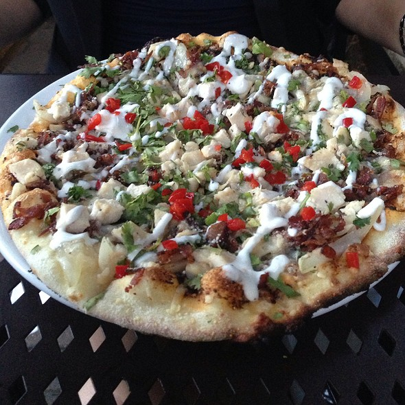 Chicken Pizza - Cilantro, Calgary, AB
