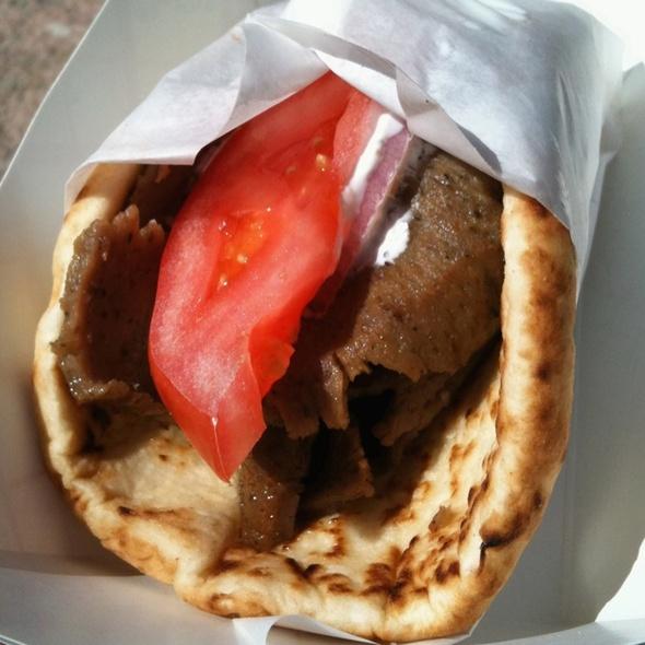 Gyro Sandwich @ Niko Nikos