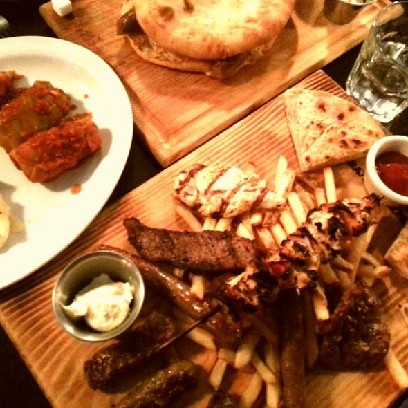 Chevapy (Mixed Meats) - Sarajevo Restaurant & Lounge, Seattle, WA