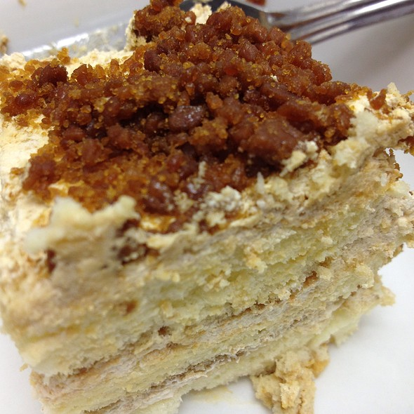 Coffee Crumble Cake @ Le Croissant Factory