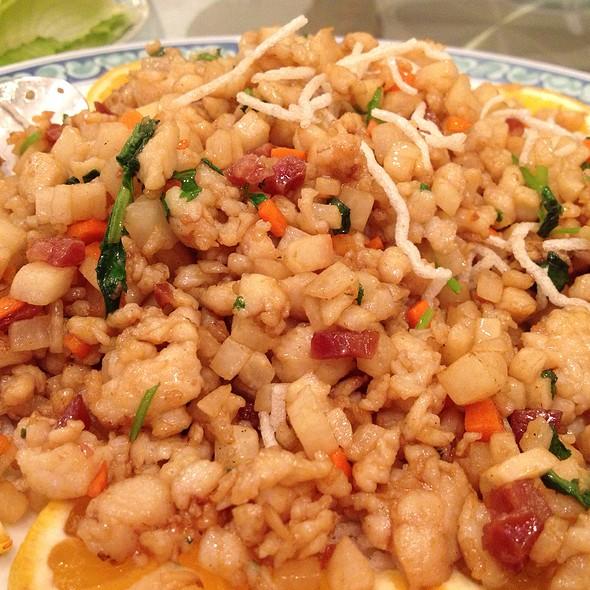 Chicken Lettuce Wrap @ Great Eastern Restaurant