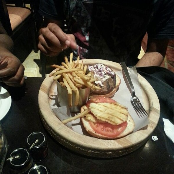 Angus Burger @ Hyatt Regency Trinidad