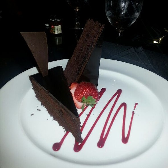 Chocolate Cake @ Hyatt Regency Trinidad