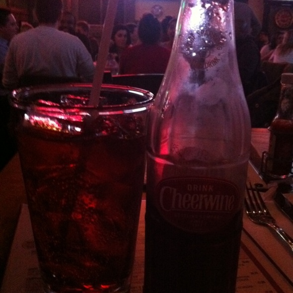 Cheerwine! @ brother jimmy's - union square