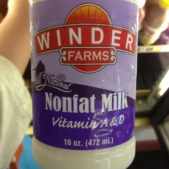 16 Oz Fat Free Milk